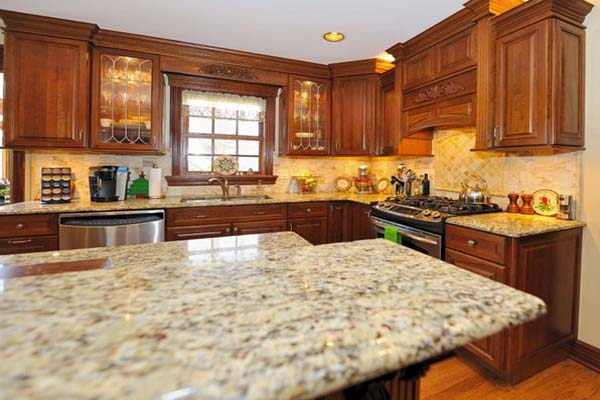 Kitchen gallery brooklyn granite for K kitchens and granite